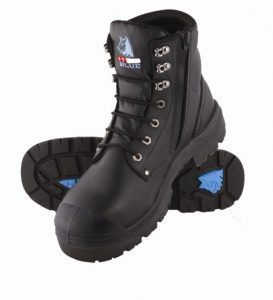 Boot Steelblue Argyle Zip Black