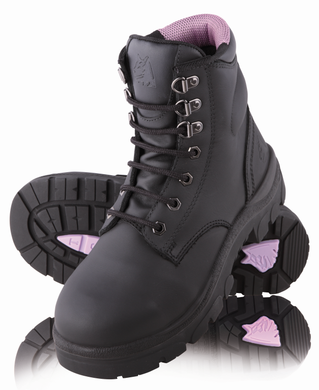 Boot ladies Argyle Steelblue Purple or Black