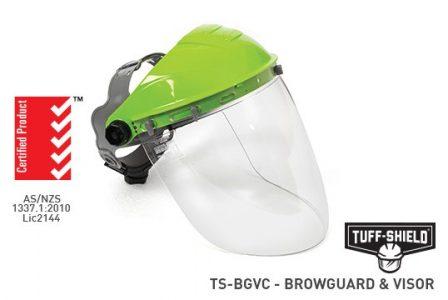 Browguard & visor combo clear AF