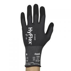 Hyflex 11-840 Fortix (cut 2) Gloves sz