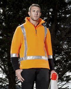 Fleece Jumper Men's TTMC-W17 Syzmik Orange