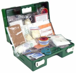Industrial 1-5 First Aid Kit plastic box PFA9008