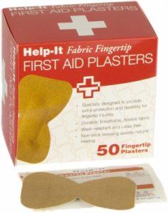 Plaster Fabric Fingertip 50/bx