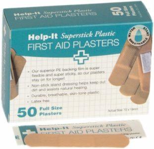 Plastic Plasters Box/50