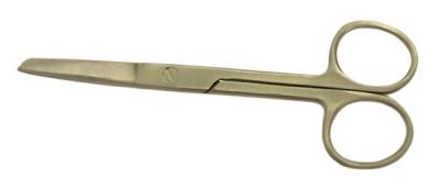 Scissors – Sharp Blunt Stainless Steel Nursing – 13cm