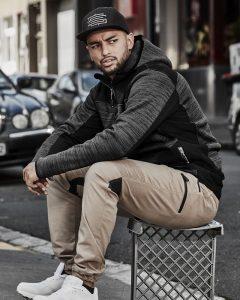 Jacket/Hoodie Agility – Unisex Streetworx Reinforced Knit Hoodie