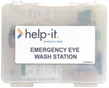 Eye Wash Shelf – Wall Mountable Station