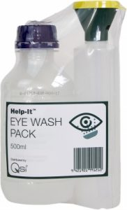 Eyewash bottle with saline 500ML