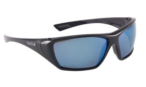 Hustler Blk Frame BLUE Polarised 1652618