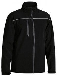Jacket Soft Shell Bisley Black or Charcoal