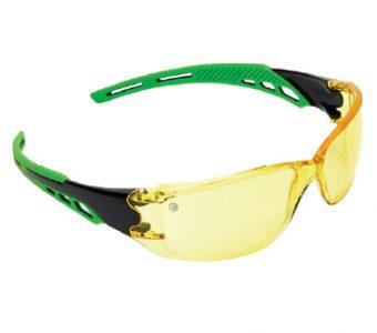 Spec Cirrus Anti-Scratch & Fog UV Safety Glass – Amber