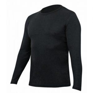 Merino Top Thermerino Long Sleeve Black