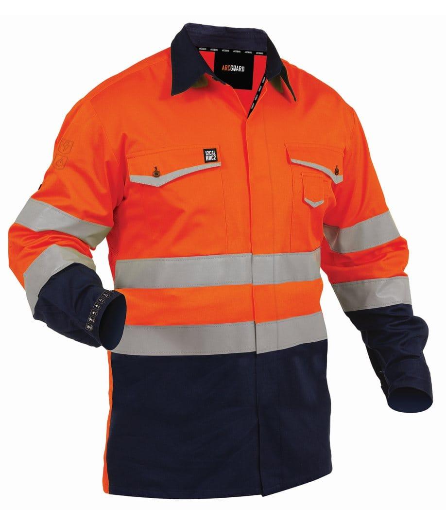 Shirt Arcguard FR 240gsm Inheratex Org/Nvy
