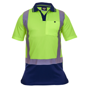 Childrens Hi-Vis Polo Day/Night Microfibre