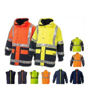 Jacket Bisley 5in1 Yel/Nvy