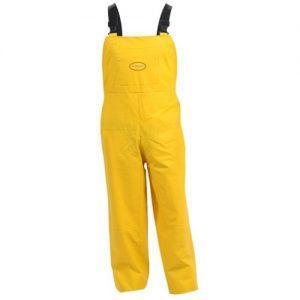 Premium Weight PVC Yellow Bib Overtrouser