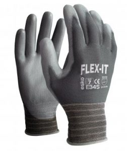 Glove puflex PU palm, nylon liner