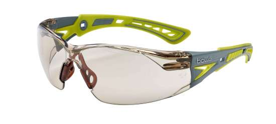 Bolle Spec Rush Plus Small Platinum CSP Lens Lemon/Grey