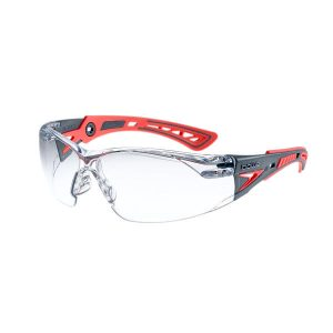 Bolle Spec Rush Plus Small Clear Red/Pink