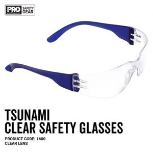 SPECS SAFETY CLEAR TSUNAMI