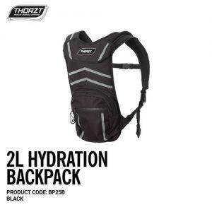 Thorzt Hydration Baclpack 2L Premium Black