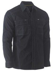 Shirt Bisley Flex & Move Utility Stretch Black BS6144