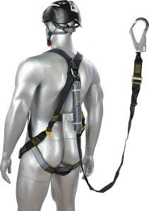 Zero Adjustable lanyard single with scaff hook