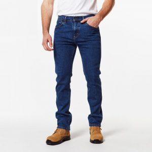 Levi's®, 505 Regular Fit Jean-32 leg Dark Stonewash