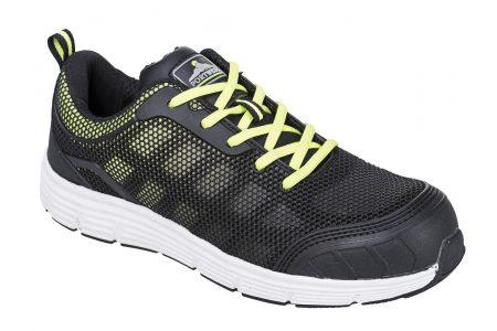 Shoe Tove Trainer BlackGreen UK11