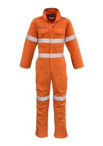 Mens FR Hoop Taped Overall Orange