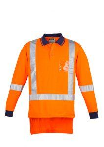Long Sleeve Polo Men's TTMC-W17 Orange