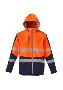 Softshell Taped Jacket Unisex 2 in 1 Stretch