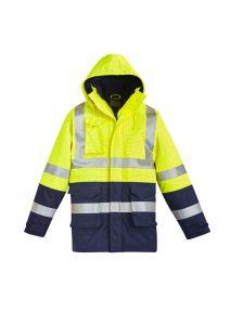 Waterproof Jacket FR Arc Rated Anti Static Mens Syzmik