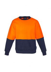 Hi Vis Crew Sweatshirt Low Pill Unisex Syzmik