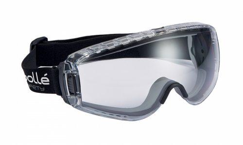 Pilot 2 Platium Goggle Clear Vent Bolle