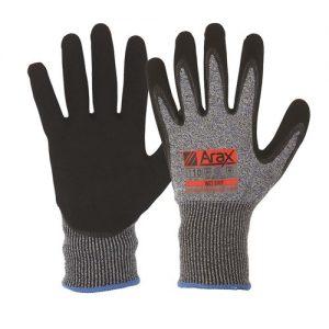 Arax Wet Grip Glove EN388 Cut Level D