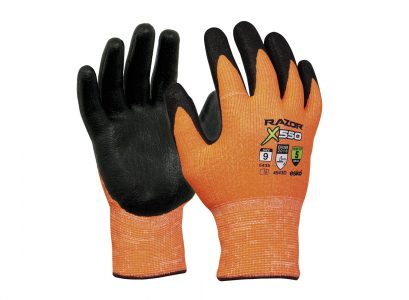 Razor X550 Cut proof level 5 Gloves (Nitrile) * Clearance * Size 10 only